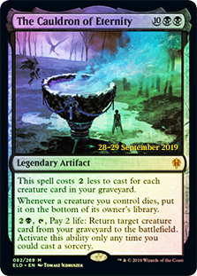 El Caldero de la Eternidad - The Cauldron of Eternity (Pre-Release)(Foil)