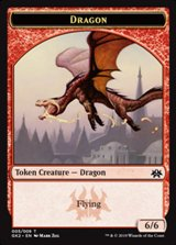Ficha doble Dragón/Trasgo - Dragon/Goblin Token
