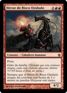 Héroe de Risco Oxidado - Hero of Oxid Ridge (Chino)